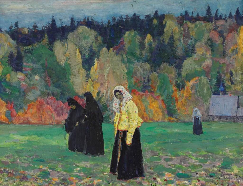 Mikhail Nesterov (1862-1942) A quiet life